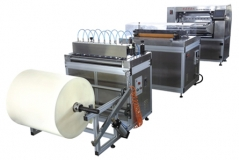 SECZ55-600N Full-auto Knife Pleating Production Line